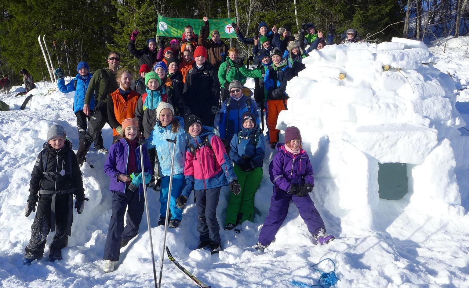Stikkut Bli Med På Friluftsskole På Skaret I Vinterferien 2019